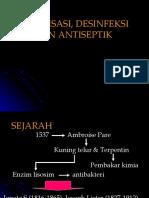 2. Sterilisasi, Desinfeksi & Antiseptik