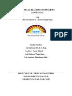 CRE Lab Manual