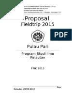 Proposal Fieldtrip 2015.Docx