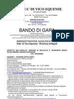 BANDO DI GARA