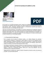 La Tributación y Los Presupuestos Nacionales en América Latina