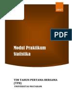 Modul Praktikum Statistik