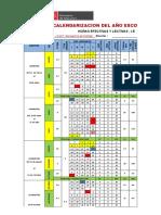 Doc Calendarizacion 2018 09dic