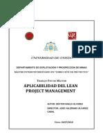 Aplicacion Del Lean en Project Mam¡Nagement