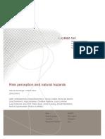 BOOK SAFETY-Risk Perception & Natural Hazard