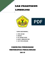 Laporan praktek limnologi