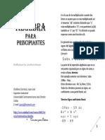 Algebra Paraprincipianes Versiónimpresion