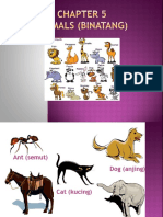 Bab 5 Animals (Binatang)