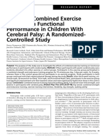 Effects of Combined Exercise Training on.12