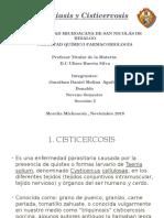 Teniasis y Cisticercosis