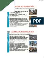 Lineas de Investigación Ing. Civil
