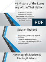 A Short History of the Long Memory of Thailand