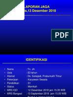 Tn JA, Gastritis Erosif, CAP, PPOK