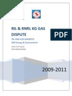 RIL & RNRL Issue (Ankit Anil Gupta PRN 09020243008)