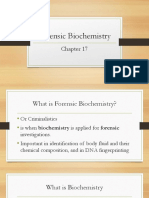 Chapter 16 Forensic Biochemistry Pp