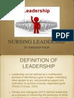 Leadership Sandeep