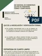 Modelacion y Verificacion Formal
