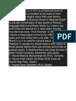 Makhand Shareef Attock