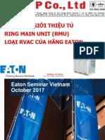 Eaton RMU RVAC Product Presentation - 06102017