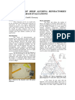 Assessment of High Alumina Refractories by Phase Diagram Evaluations