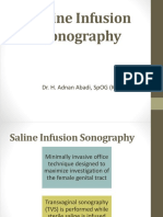 Saline Infusion Sonography