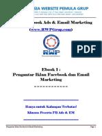 Iklan Facebook dan Email Marketing