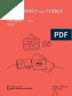 MIF Katalog