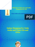 Online Shopping for Vedic Audio CDs and Video CDs - Vedic Arts and Crafts Promotion Pvt Ltd