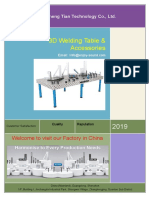 DCT 3D Welding Table Catalog 2019