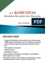 FT Komunitas RBM Tiar .ppt