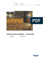 Customer Churn Case Study