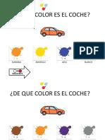 Aprendo Colores Con Los Coches