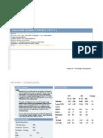 Format Company Profile