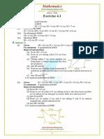 Punjab Examination Commission PEC 8th Class Mathematics Unit 4.1 Notes