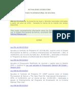 InfoLeyes Bolivia - BDL Al 15-10-2010