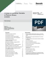 Pompe a10vso Bosch Rexroth Hydraulique(1)