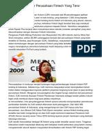 OJK Didesak Blokir Perusahaan Fintech Yang Teror Konsumen