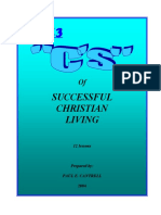 Christian Living--The 13 Cs of Successful