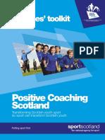 Positive Coaching Scotland Coache Toolkit