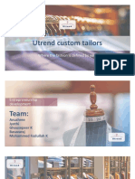 Utrend Custom Tailors