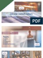 Utrend Custom Tailors