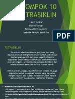 Translate  tetrasiklin hanbook