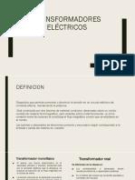 Transformadores eléctricos