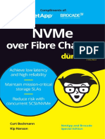 Nvme Over Fibre Channel for Dummies Brocade