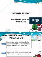 Patient Safety and Reporting System