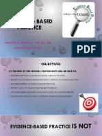 Evidence – Based Practice_Presentation _SD