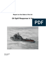 Report on the State of the Art_ Oil Spill Response in Ice