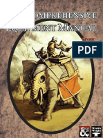 The Comprehensive Equipment Manual