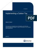 Implementing Carbon Tax
