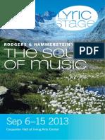 Lyric Stage the Sound of Music Sep2013